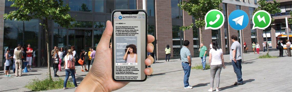 NEU: Messenger-Service!